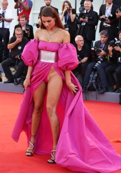 dayane mello dress red carpet venezia