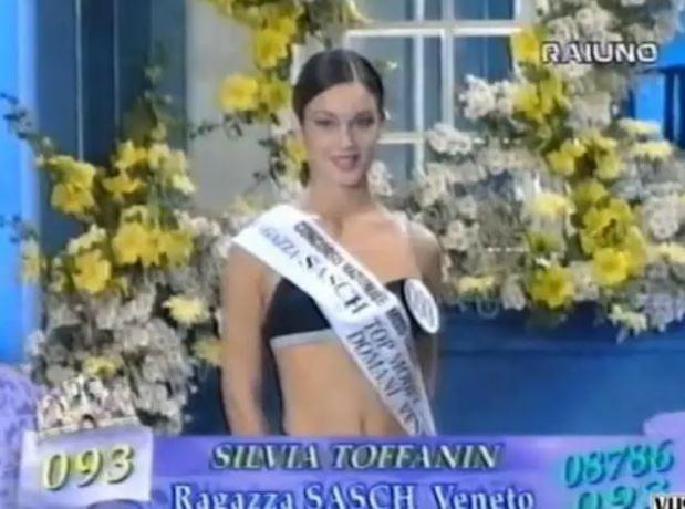silvia toffanin a miss italia 1997